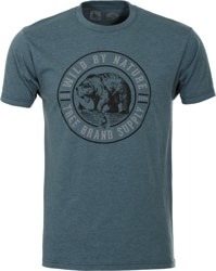 Hippytree Grizzly T Shirt Heather Navy