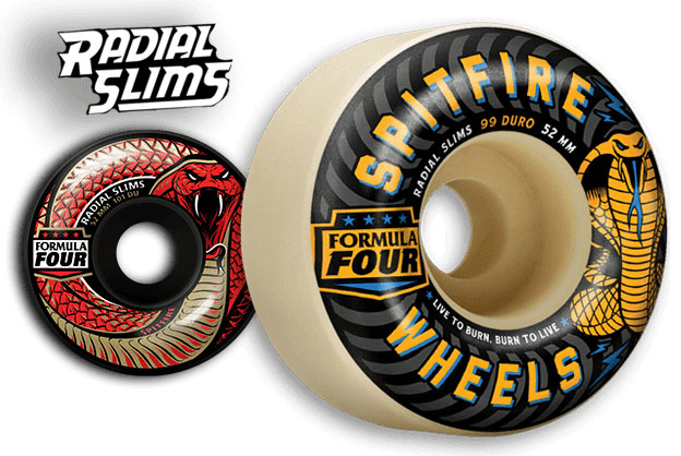 Radial Slim Wheels